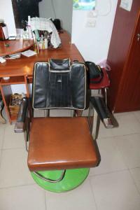 Парикмахерское кресло до ремонта